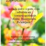 [Łososina Dolna]: Wiosenny Recital