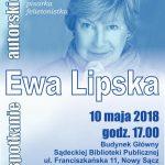 Spotkanie autorskie z Ewą Lipską
