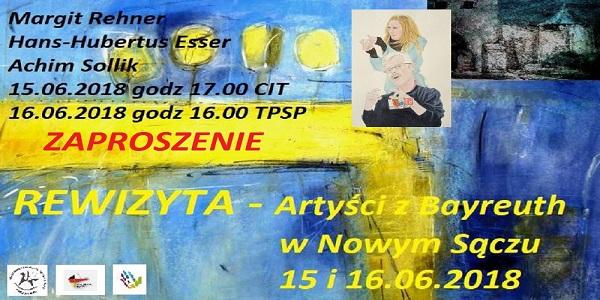 Rewizyta Artystów z Bayreuth w Nowym Sączu