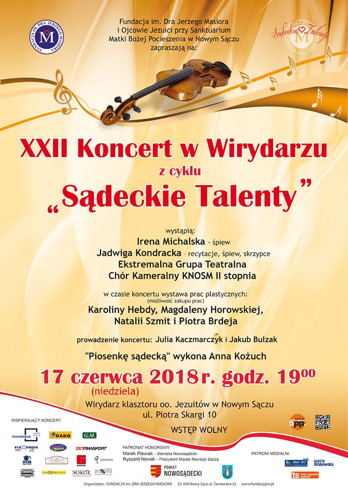 Koncert w Wirydarzu