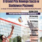 II Grand Prix Nowego Sącza w Siatkówce Plażowej