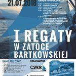 [Gródek nad Dunajcem]: I regaty w Zatoce Bartkowskiej