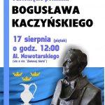 [Krynica – Zdrój]: Odsłonięcie Pomnika Bogusława Kaczyńskiego