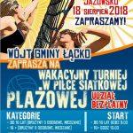 [Jazowsko]: Wakacyjny Turniej Plażowej Piłki Sitkowej