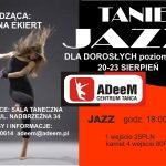 Jazz dla dorosłych -poziom basic – warsztaty z Martyną Ekiert