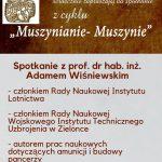 [Muszyna]: Muszynianie Muszynie: Spotkanie z prof. Dr hab. Inż. Adamem Wiśniewskim