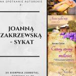 [Muszyna/Żegistów]:Spotkanie autorskie z Joanną Zakrzewską – Sykat
