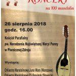 [Piwniczna Zdrój]: Koncert na 100 mandolin