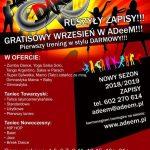 ADeeM zaprasza na zajęcia taneczne dla dzieci, młodzieży i dorosłych – wrzesień zajęcia gratis