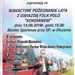 [Olszana]: Pożegnanie lata z gwiazdą Folk Polo Kordianem