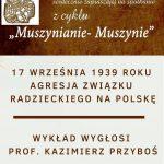 [Muszyna]: Muszynianie – Muszynie: Agresja Związku Radzieckiego na Polskę