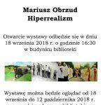 [Gołkowice Górne]: Hiperrealizm – Mariusz Obrzud