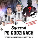 Sączersi po godzinach: Spotkanie z piłkarzami