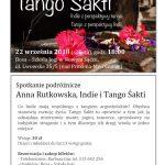 Indie z perspektywy Tanga, Tango z perspektywy Indii