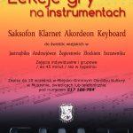 [Muszyna]: Lekcje gry na instrumentach