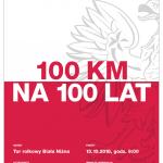 [Biała Niżna]: Sztafeta 100 km na 100 Lat