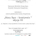 """[Stary Sącz]: """"Stary Sącz – kreatywnie"""" edycja III"""