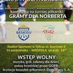 [Tylicz]: Gramy dla Norberta – Turniej Piłkarski