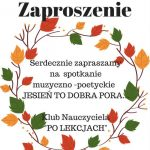 [Łososina Dolna]: Jesień to dobra pora…