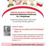 Sądecka Biblioteka Publiczna Oddział dla Dzieci zaprasza na warsztaty interdyscyplinarne