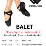 Szkoła Tańca Wir Dance zaprasza na zajęcia dla dzieci i dorosłych