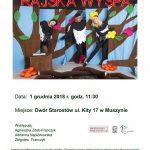 [Muszyna]: Spektakl ekologiczny dla Dzieci