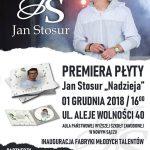 Jan Stosur – promocja płyty