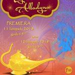 Tajemnica Alladyna – premiera spektaklu dla dzieci