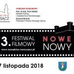 """3. edycja Festiwalu Filmowego """"NOWE KINO – NOWY SĄCZ"""""""