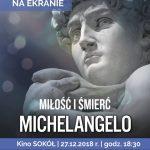 Michelangelo. Miłość i śmierć – wystawa na ekranie
