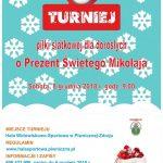 [Piwniczna Zdrój]: Turniej piłki siatkowej o Prezent Świętego Mikołaja