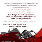 [Stary Sącz]: XVII Biegi Niepodległościowe oraz Turniej Strzelecki
