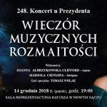 248. Koncert u Prezydenta: WIECZÓR MUZYCZNYCH ROZMAITOŚCI