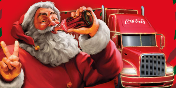 Świąteczna ciężarówka Coca – Cola w Nowym Sączu!