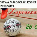 Halowych Mistrzostw Małopolski w piłce nożnej kobiet