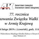 77. rocznica przemianowania ZWZ na Armię Krajową.