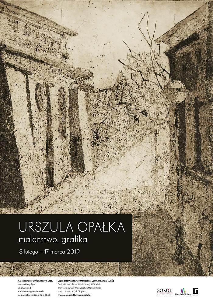 Wystawa Urszuli Opałek – plakat