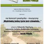 Światowy Dzień Poezji w Sądeckiej Bibliotece Publicznej