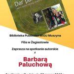 [Żegiestów]: Spotkanie autorskie z Barbarą Paluchową