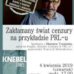 Zakłamany świat cenzury na przykładzie PRL-u