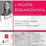 [Stary Sącz]: Agata Kołakowska – spotkanie autorskie