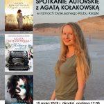 [Piwniczna Zdrój]: Spotkanie autorskie a Agatą Kołakowską