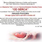 """[Gródek nad Dunajcem]: Monodram """"Od Serca"""" – Teatr Odwrócony z Krakowa"""