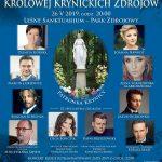 [Krynica – Zdrój]: Koncert Królowej Krynickich Zdrojów