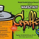 Warsztaty Graffiti / Street artu z Mgr Mors