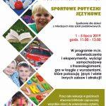 Sportowe potyczki językowe – SBP Oddział dla Dzieci Młodzieży zaprasza !
