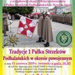 """45. spotkanie """"Bóg – Honor – Ojczyzna"""": Tradycje I Pułku Strzelców Podhalańskich w okresie powojennym"""