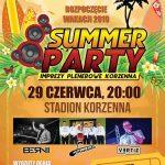 [Korzenna]: Summer Party – Rozpoczęcie Wakacji 2019