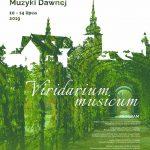 """[Stary Sącz]: 41 Starosądecki Festiwal Muzyki Dawnej – """"Viridarium musicum""""."""
