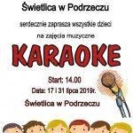 [Podrzecze]: Karaoke dla Dzieci